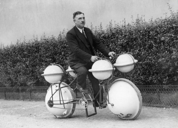 Amphibien Fahrrad