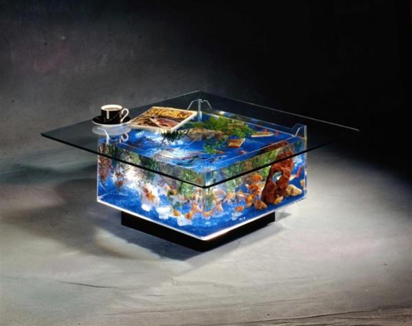 Aquarium Kaffeetisch