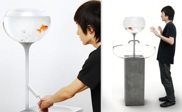 Aquarium Wasserhahn