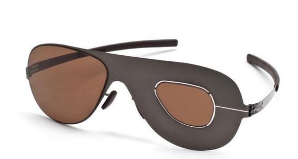 Asymmetrische Brille