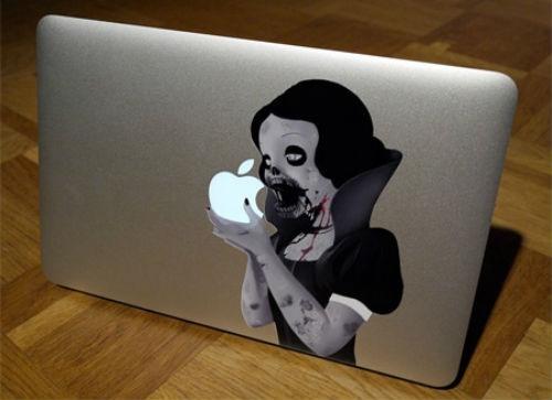 Aufkleber Snow White Zombie