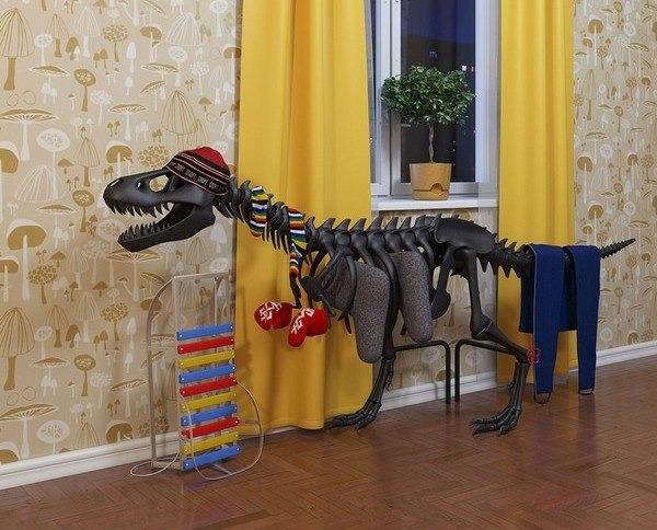 Batterie-Dinosaurier