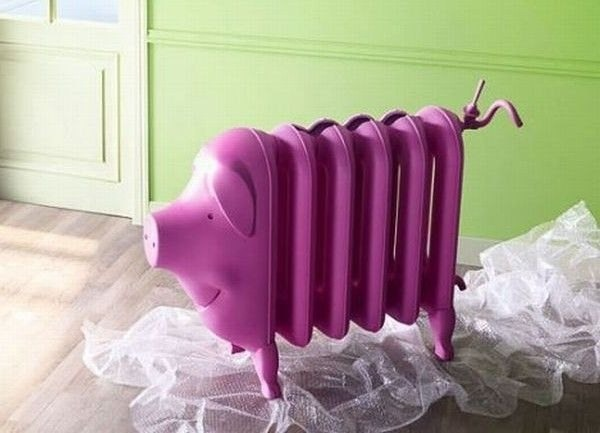 Batterie-Schwein