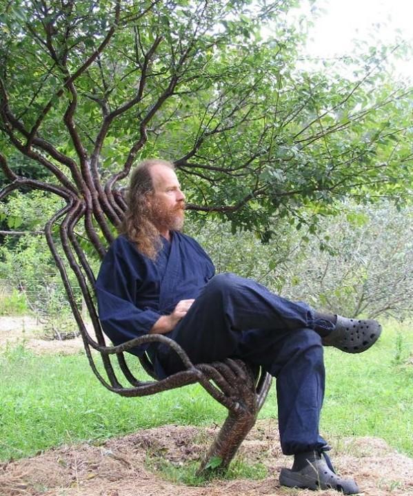 Baum-Stuhl