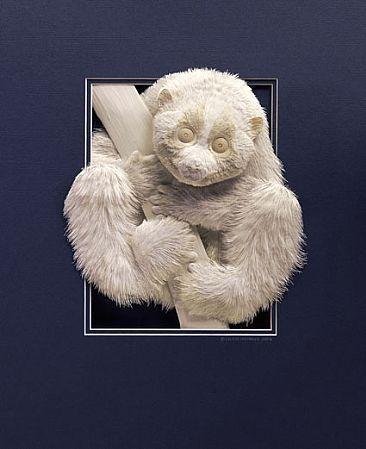 Bilder von Tieren aus Papier geschnitten 20