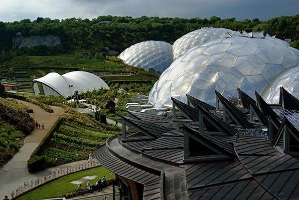 Botanischer Garten Eden in Grossbritannien