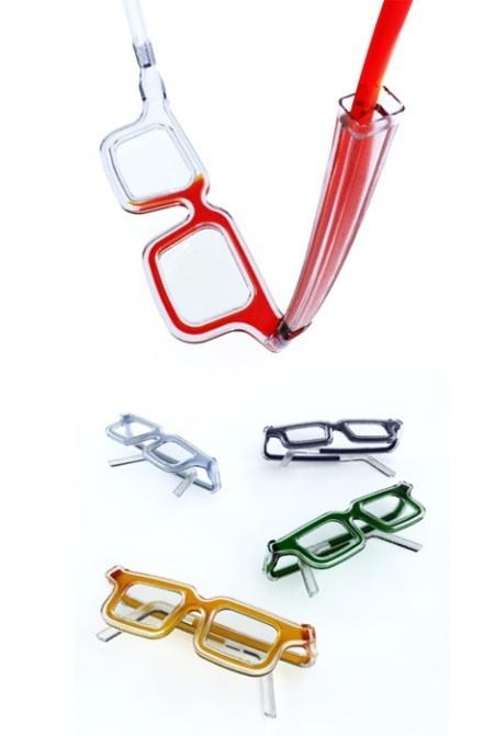 Brille, die ihre Farbe aendern kann