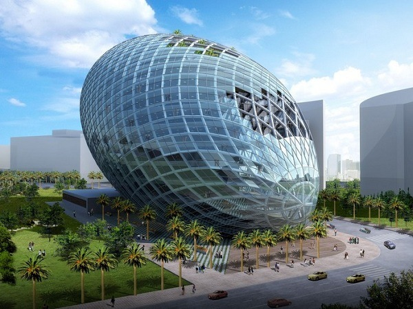 Cybertecture Egg Projekt fuer Mumbai
