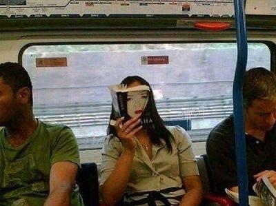 Das Maedchen in der U-Bahn