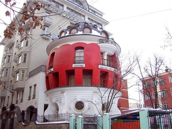Ei-Haus in Moskau
