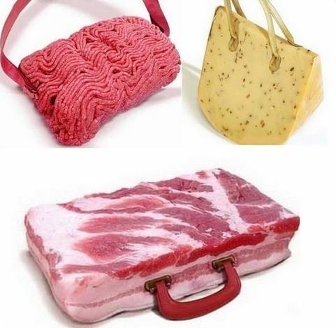 Essbare Taschen