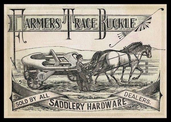 Farmers Trace Buckle