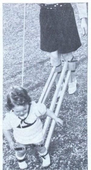 Geraet, um ein Kind laufen