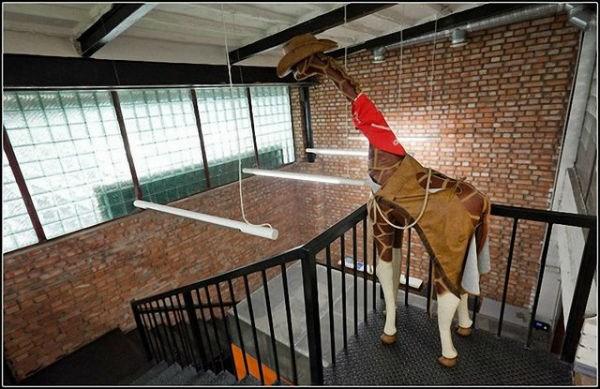 Giraffen-Buero 1