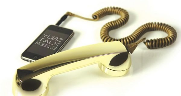 Gold Retro Handset