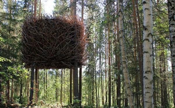 Hotel auf dem Baum
