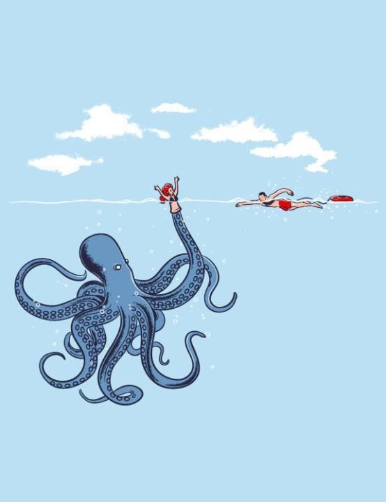 Humorvolle Bilder auf T-Shirts 01