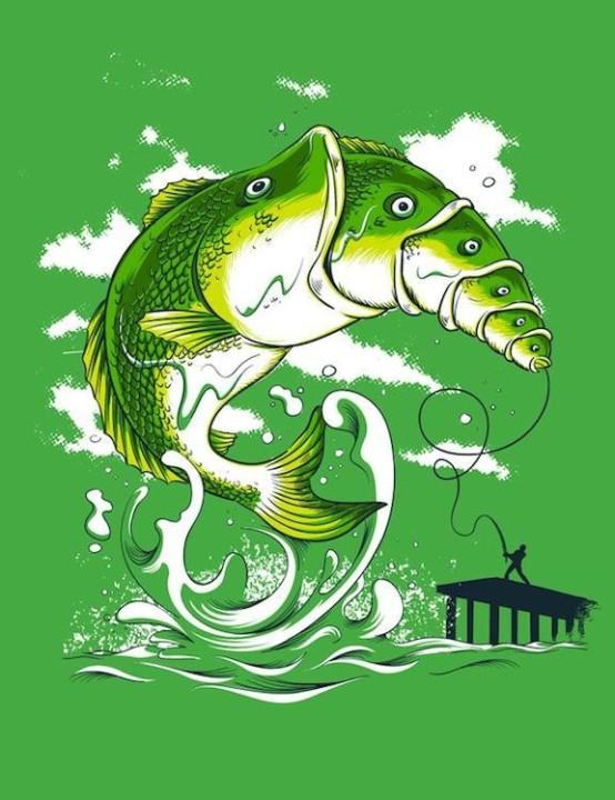 Humorvolle Bilder auf T-Shirts 27