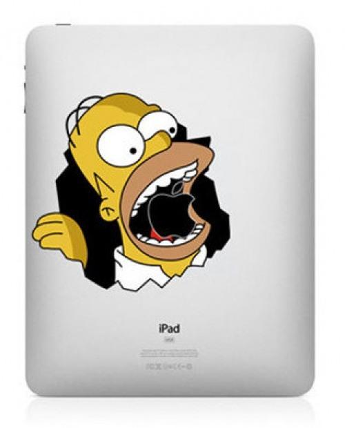 Hungriger Homer Simpson