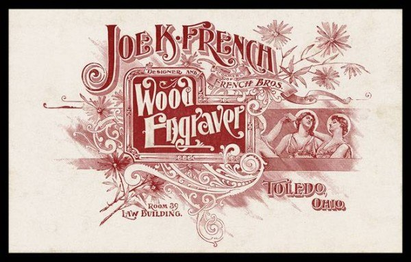 Joe K. French, Wood Engraver