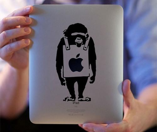Kleiner Affe von Banksy