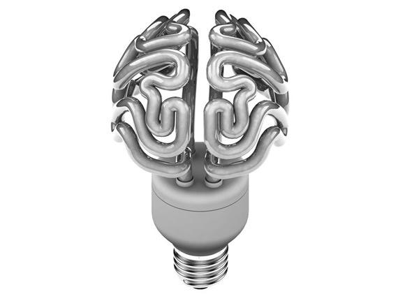 Lampe Gehirn 2