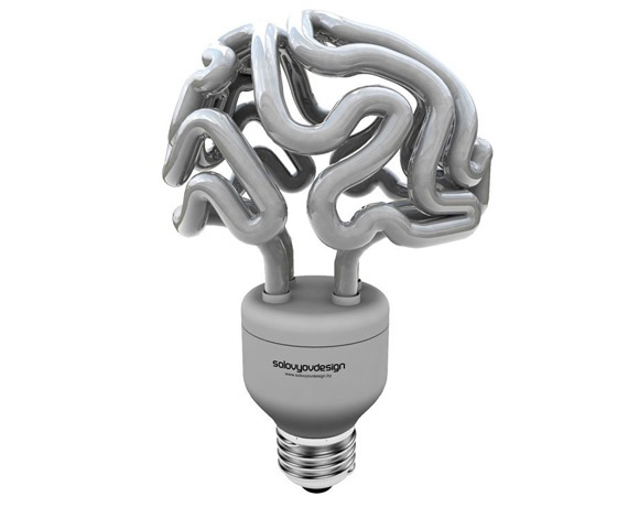 Lampe Gehirn