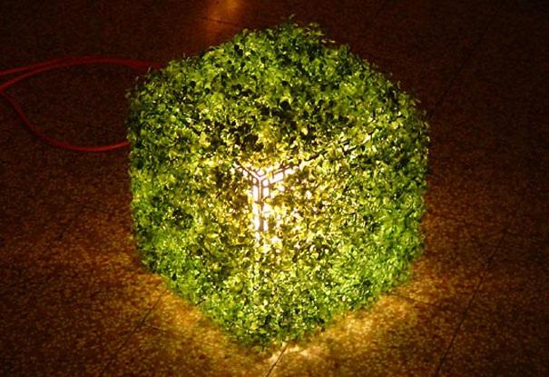 Lampe als Pflanze