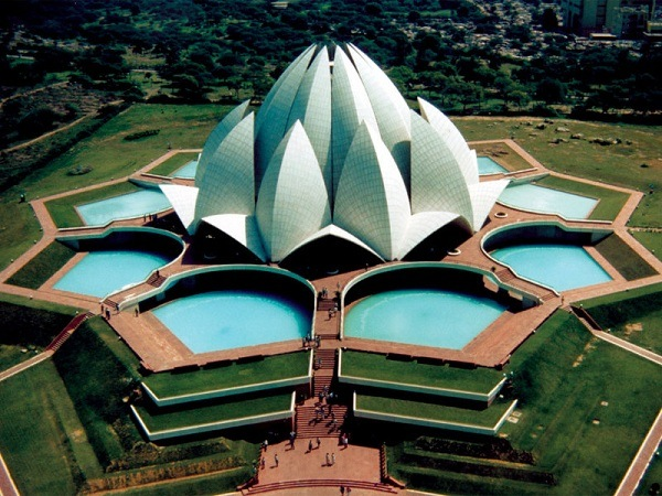 Lotus-Tempel in Indien