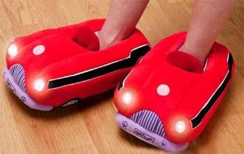 Pantoffeln fuer das Auto