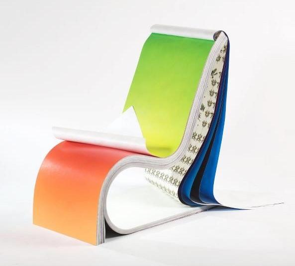 Papier-Stuhl