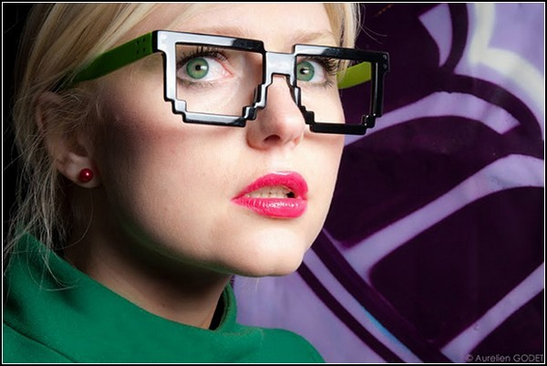 Pixel Brille