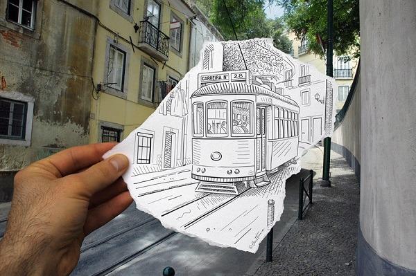 Realitaet mit Bleistift ergaenzt 24