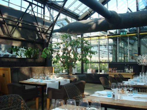 Restaurant als Garten