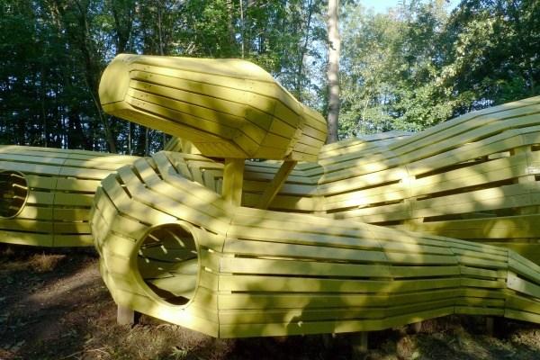 Schlange im Wald Meldgard 1