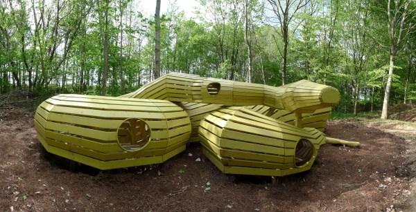 Schlange im Wald Meldgard