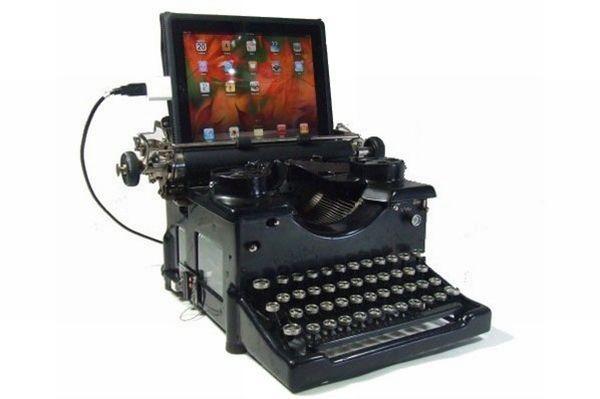 Schreibmaschine fuer iPad