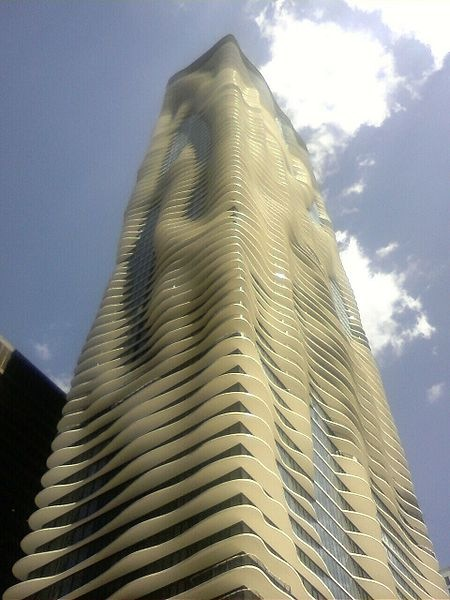 Skyscraper Aqua in Chicago 1