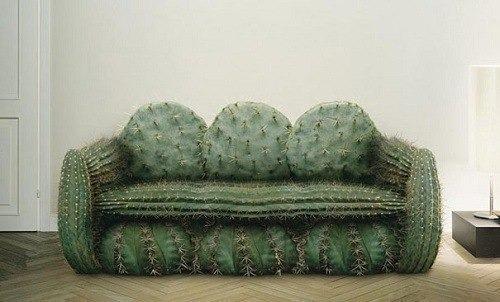 Sofa als Kaktus
