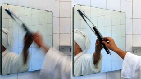 Spiegel  Scheibenwischer