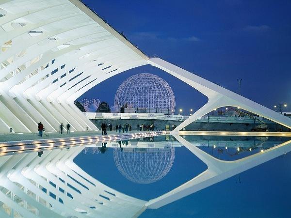 Stadt der Kuenste und Wissenschaften in Valencia, Spanien 1