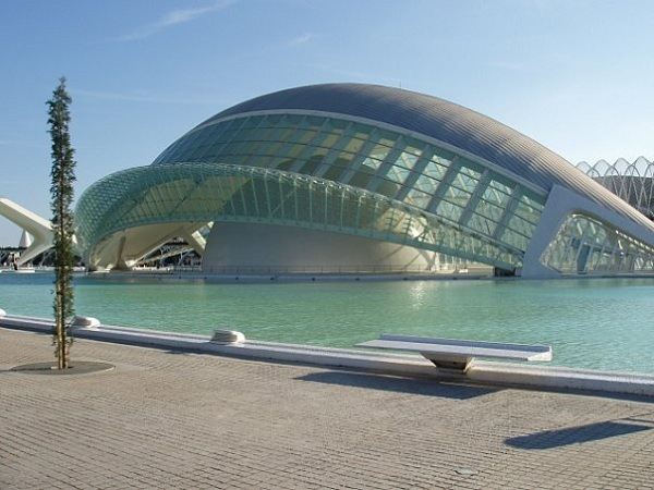 Stadt der Kuenste und Wissenschaften in Valencia, Spanien