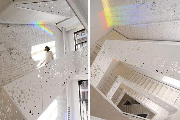 Stairway in der NYU