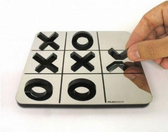 Stilvolles Spiel Tic Tac Toe