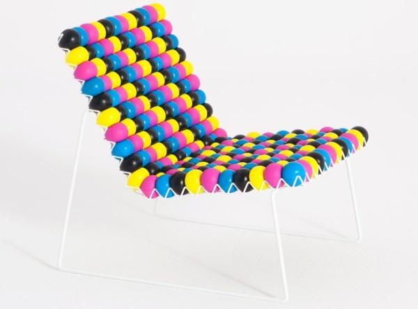 Stuhl gegen Stress