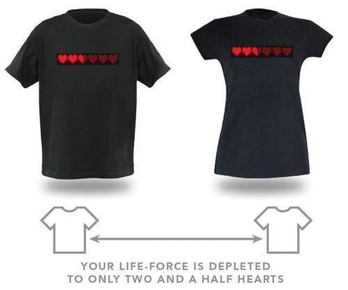 T-Shirts fuer Liebespaare
