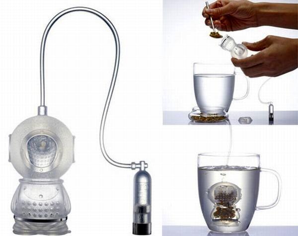 Teekanne-Taucher