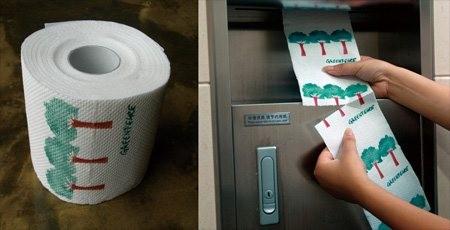 Toilettenpapier von Greenpeace