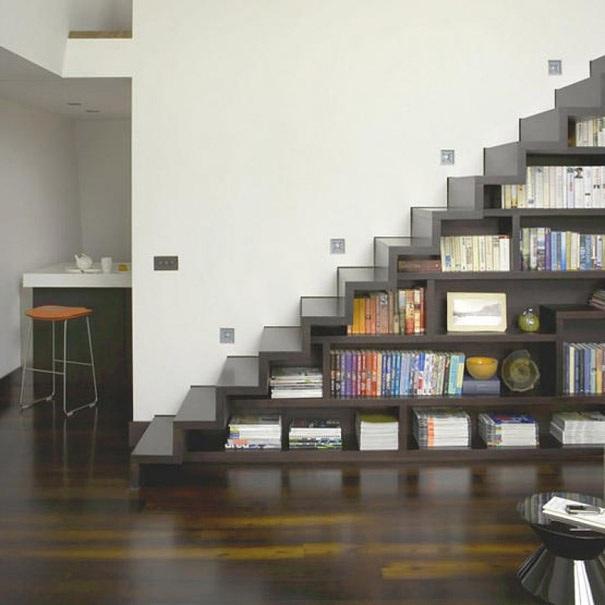 Treppe von einem unbekannten Autor entworfen