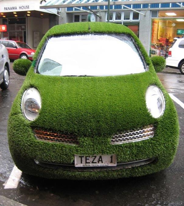 Umweltfreundliches Auto